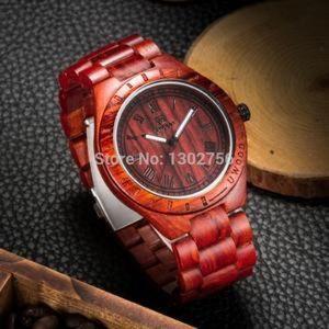 Other - Luxury UWOOD Natural Purple Heart Wooden Watch